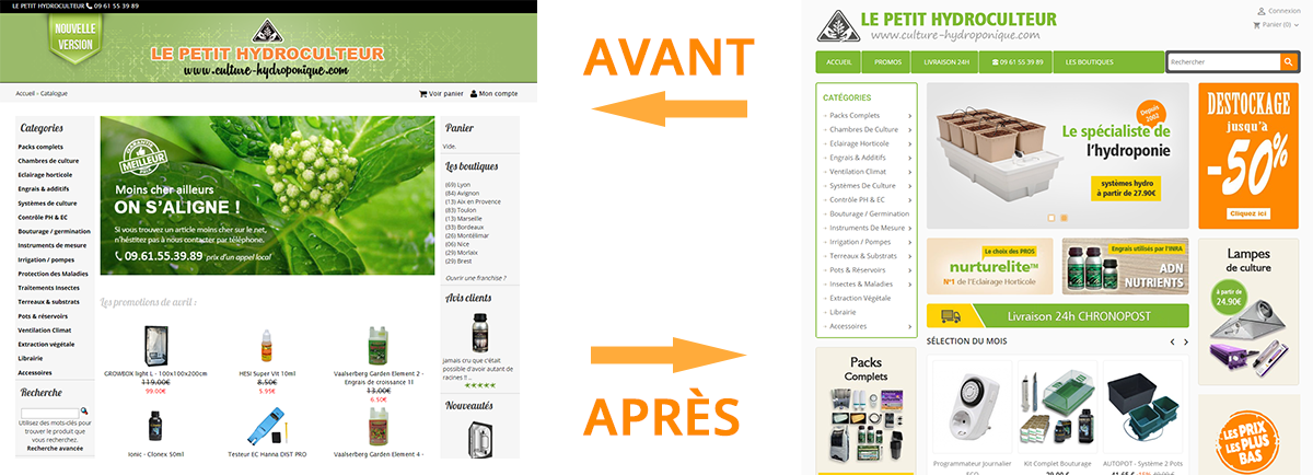 Exemple migration Oscommerce vers Prestashop