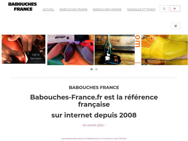 babouches-france.fr
